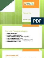 PSIQUIATRIA SUMULA PSICOPATOLÓGICA (1)