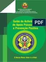 Guião de Actividades  de Apoio Psicossocial e Prevenção Positiva