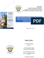 Guía Chapingo 2021 para coordinadores y aplicadores