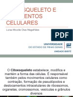 Citoesqueleto e movimento celulares