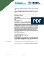 Instrucciones de aplicacion hempel Light Primer 45550