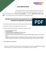 Resultados Becas León 2021 Universidad