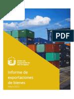 Exportaciones de Bienes-Mayo 2021