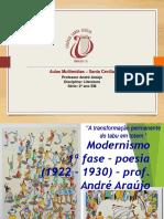 Modernismo 1a Fase Poesia