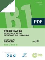 Zertifikat b1 Wortschatz Strukturen b1 b