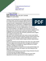 Cartas entre Maçons - 3ª Série
