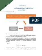 Capitulo 06 (Ecuaciones diferenciales reducibles a homogenéas)