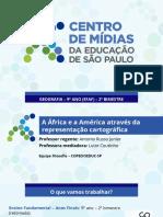 A África e a América através da representação cartográfica (revisão)