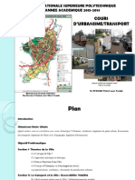 SECTION I-COURS URBA TRANSPORT 2014