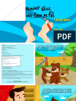 Interativo eBook O Menino Que Escrevia Com Os Pes