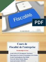 cours fiscalité Pr Y Aissaoui 2020 modifié - Copie