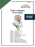 Fiches Techniques