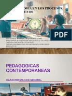 pedagogia contemporaneas