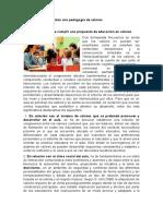 Bases que fundamentan una pedagogía de valores  04