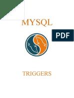 Tutorial MySQL - Triggers