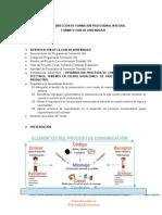 GUÍA DE APRENDIZAJE COMPETENCIA DE COMUNICACIÓN