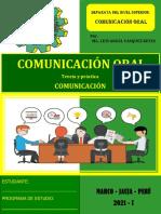 SEMANA Nº 4 - Comunicación Oral