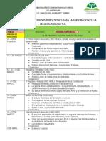 DOSIFICACIÓN  DE 4 SEMESTRE 2 PARCIAL-1
