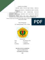 Baiq Maulina Artati, ISBD, Agribisnis, Dr. Taufiq Ramdani, S.Th.I., M.Sos.