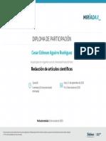 Certificado-Redacción articulos cientificos