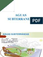 3.2 AGUAS SUBTERRANEAS