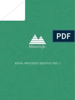 Edital Processo Seletivo 21.1