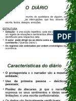 Características diário anexo 1