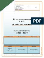 B9 Licence Travaux Publics