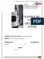 Rapport Stage 3rd0