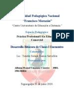 Bitacora de I Encuentro Academico