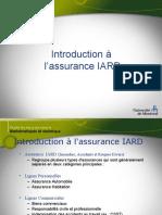 Cours 1 - Introduction à l'assurance IARD