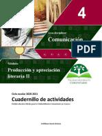 4sem-Producción y Apreciación Literaria II