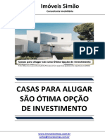 Casas Para Alugar Sao Uma Otima Opco de Investimento