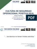006. Junio 2021. Cultura de Seguridad Operacional Positiva Verdadera. TWO WHITES TWO REDS