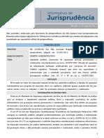 INFORMATIVO STJ 0696