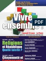 20110319 Colloque Vivre Ensemble