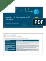 Enrutamiento IP Estático