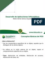 DIAPOSITIVAS 1 REPASO CONCEPTOS DE POO