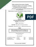 Mémoire de Fin d'Étude Master 2019 Mcp UKMO Fichier PDF