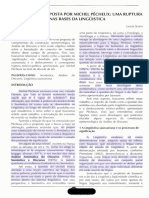 Artigo - A Semântica Proposta Por Michel Pêcheux