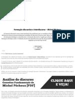 Artigo - CT - formacao-discursiva-e-interdiscurso-michel-pecheux