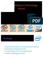 Strategic Brand Management INTEL Building a Technology Brand