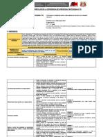 Planificación curricular de la EAI 1°_2°
