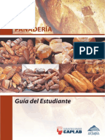 Guía de estudio del estudiante panadería artesanal