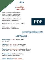 Miniaulas de Português