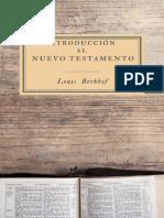 Introducción al Nuevo Testamento – Louis Berkhof