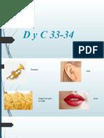 D y C 33-34