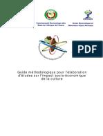 Guide Methodologique Impact Economique Culture Juin 2011 (1)