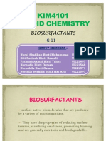 BIOSURFACTANTS