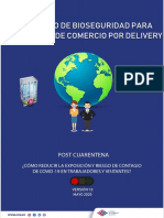 PROTOCOLO DE BIOSEGURIDAD PARA ACTIVIDADES DE COMERCIO POR DELIVERY